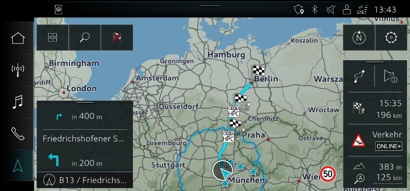 E-Tron Route Planner