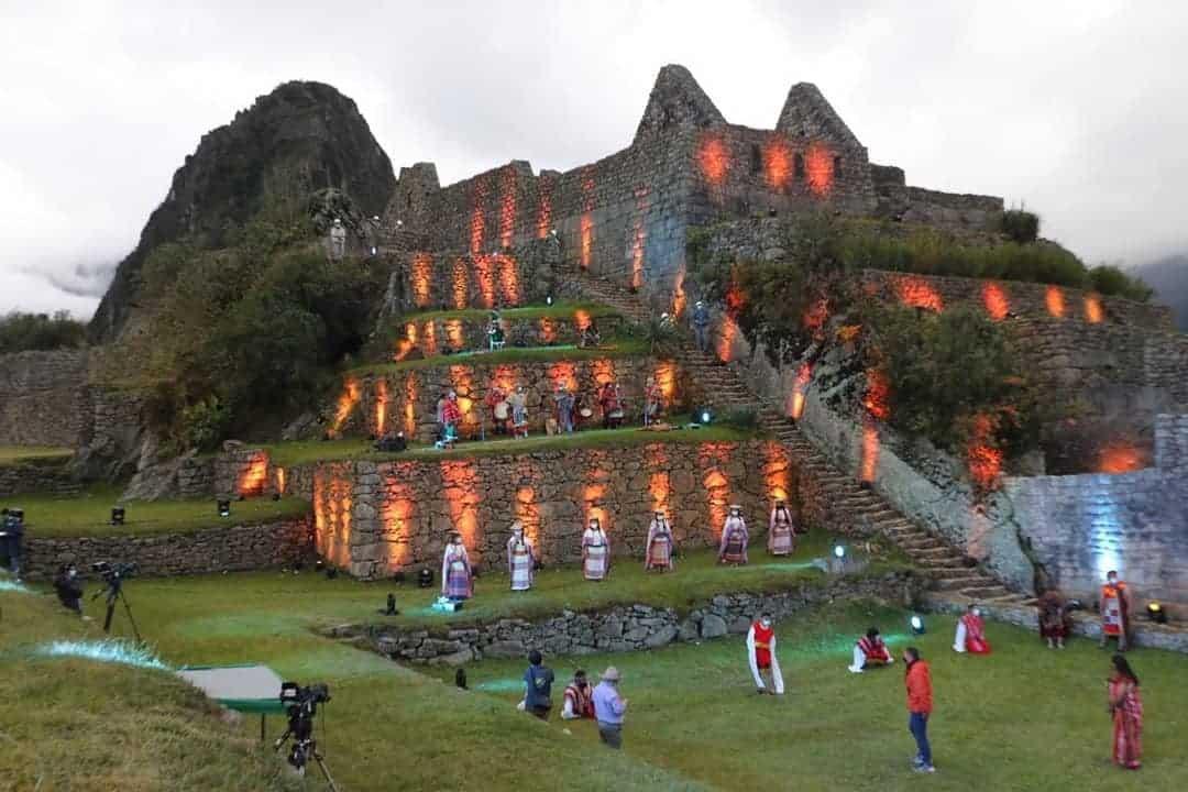 Así se vivió la ceremonia de reapertura de Machu Picchu tras varios meses de cierre por la pandemia 1