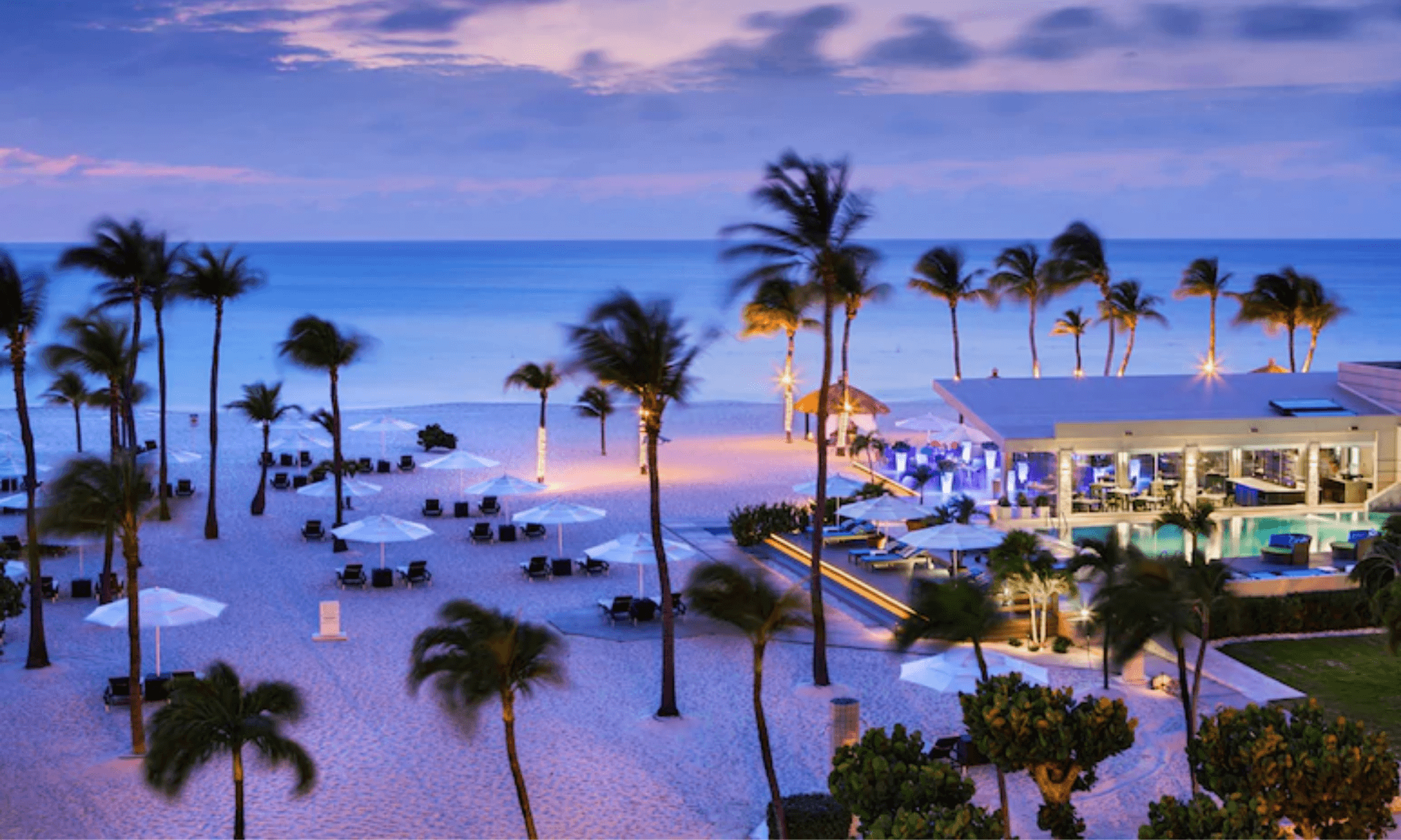 resort Aruba unico certificado carbono neutral del Caribe 1