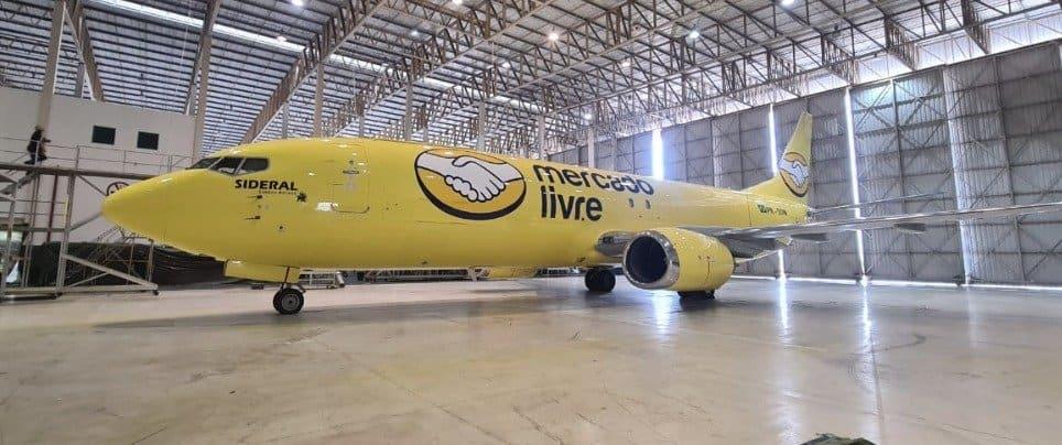 Mercado Libre Presentó Su Propia Flota De Aviones Para Realizar Las Entregas Más Rápido