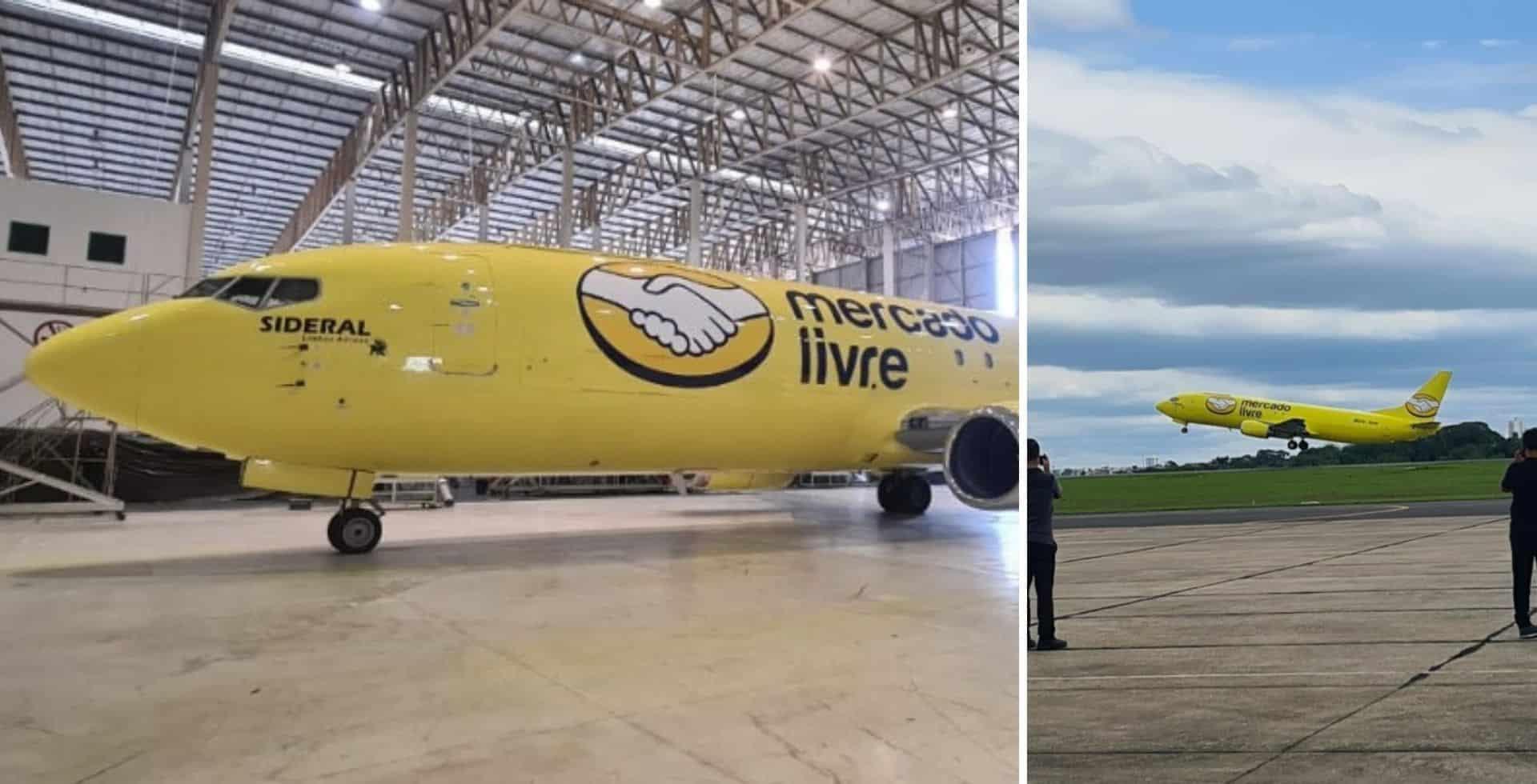 Mercado Libre presentó su propia flota de aviones para realizar las entregas en un plazo máximo de 48 horas