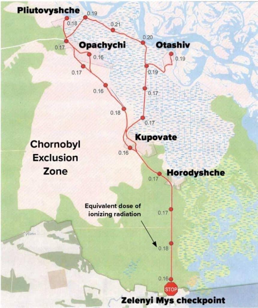 Abrirán una ruta ciclista para recorrer las zonas de exclusión de Chernobyl: tendrá 45 kilómetros de extensión y estaría lista para mediados de 2021