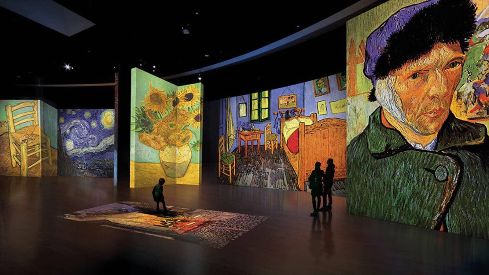 La muestra interactiva de Vincent Van Gogh llega a Estados Unidos mucho antes de lo esperado