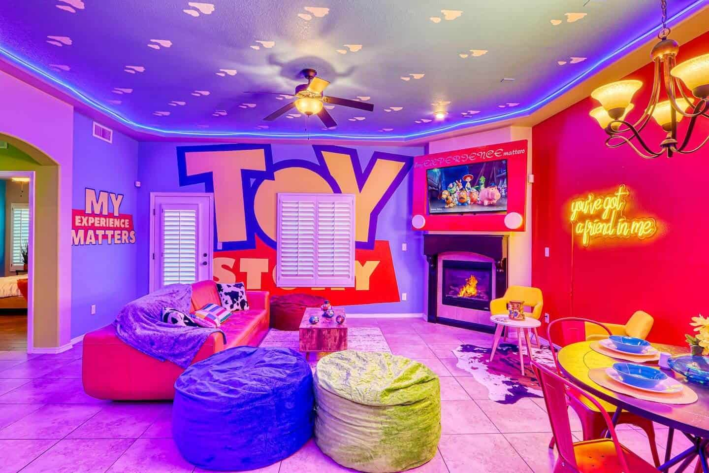 Airbnbn Toy Story