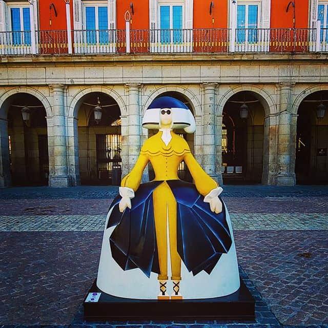 España celebra una nueva edición de las Meninas Madrid Gallery, una exposición de arte en plena vía pública