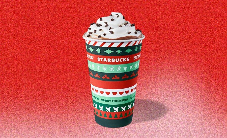 imagen Starbucks Starbucks presento sus nuevos vasos con disenos en rojo y verde para celebrar la llegada de la proxima Navidad 3 7