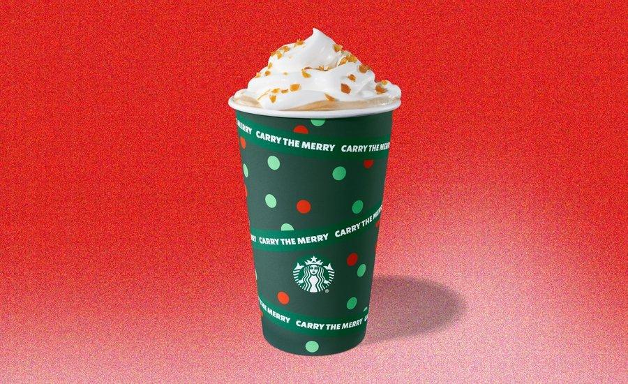 imagen Starbucks Starbucks presento sus nuevos vasos con disenos en rojo y verde para celebrar la llegada de la proxima Navidad 3 5