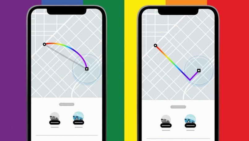 Uber lanza rutas arcoiris para celebrar el matrimonio igualitario en Puebla 2