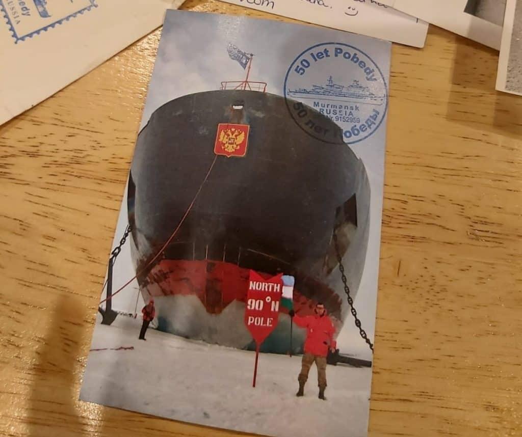 Una cápsula de tiempo que habían dejado en 2018 en el Ártico apareció hace unos días en las costas de Irlanda