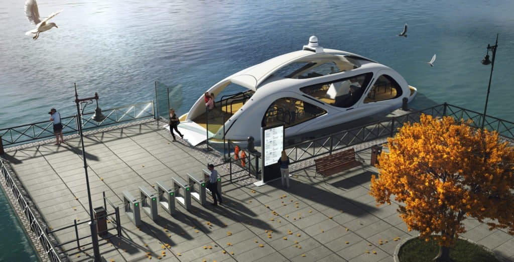 A partir de 2021 Noruega contará con ferries eléctricos que se conducen solos