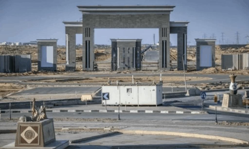imagen nueva capital de Egipto Fotos Asi luce la construccion de la nueva capital de Egipto ubicada en pleno desierto y a 50 kilometros de El Cairo 1