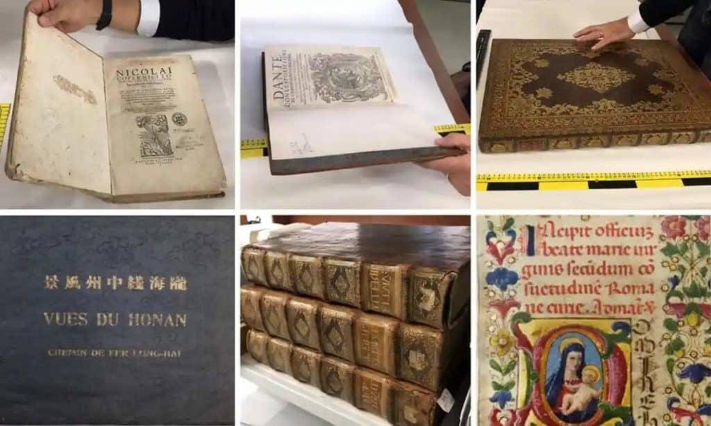 Reino Unido: recuperaron un tesoro de 240 libros valuados en más de $3.3 millones que habían sido robados al mejor estilo Misión Imposible