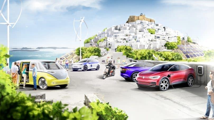 Imagen Isla Mediterránea Volkswagen Y El Gobierno De Grecia Se Unen Para Establecer Un Sistema De Movilidad Electrica En La Isla Mediterranea De Astypalea 2