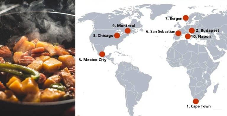 Estas ciudades son algunas de las más subestimadas por su comida, según chefs y expertos