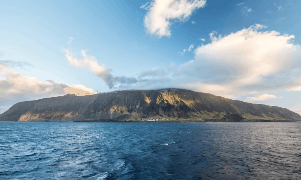 Las islas de Tristan da Cunha  en el Océano Atlántico Sur se convertirán en el santuario de vida silvestre más grande del planeta