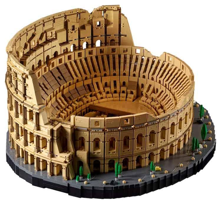 LEGO lanzará el juego del Coliseo Romano: con 9.036 piezas se convierte en el set más grande de la marca hasta el momento