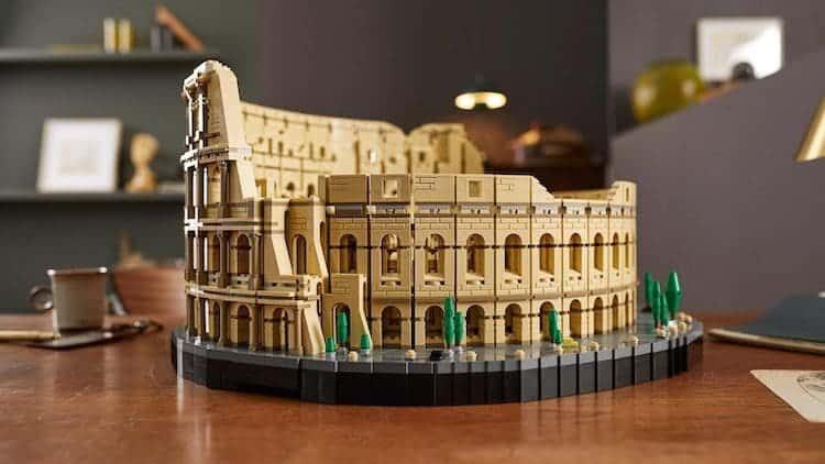 LEGO lanzará el juego del Coliseo Romano con 9.036 piezas se convierte en el set más grande de la marca hasta el momento