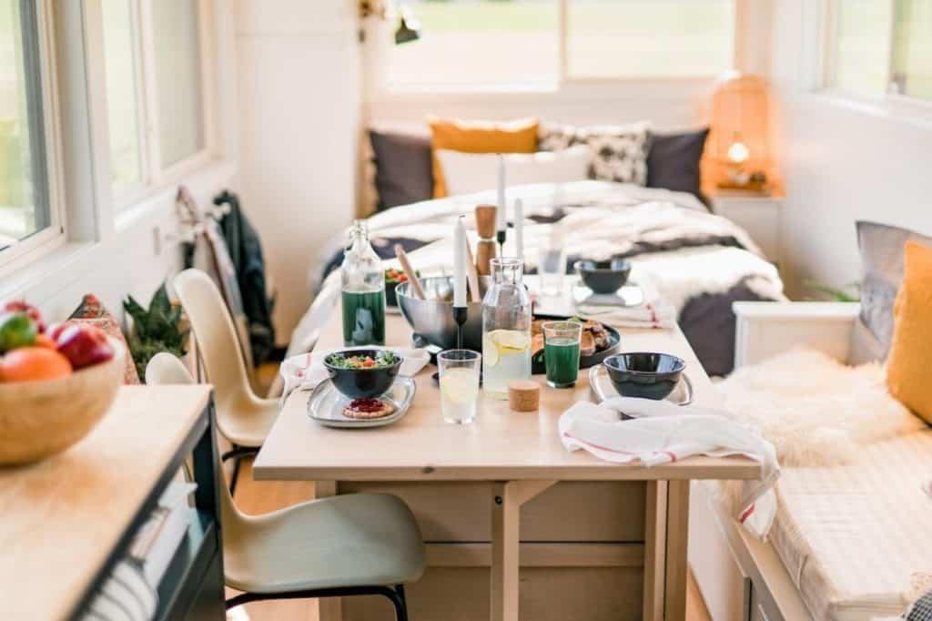imagen minicasas sostenibles IKEA lanza una coleccion de minicasas sostenibles con viviendas sobre ruedas que se pueden remolcar con cualquier coche 5