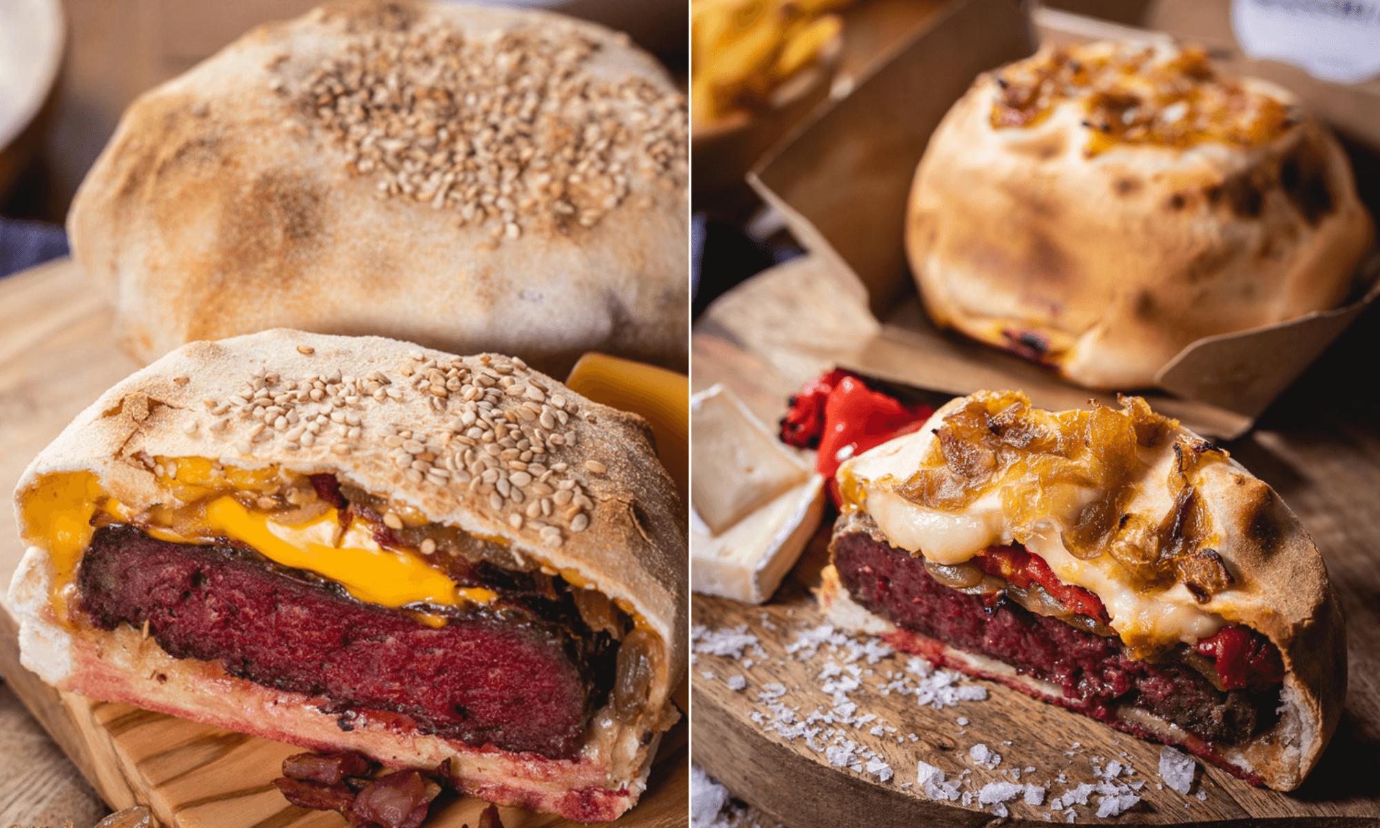 Hamburguesa envuelta en masa de pizza Así es 'Massburg', la nueva tendencia gastronómica en Madrid que causa furor 2