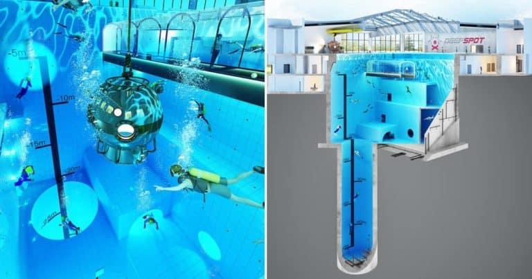 piscina más profunda Deepspoten