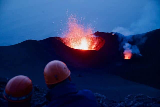volcanes activos que se pueden visitar