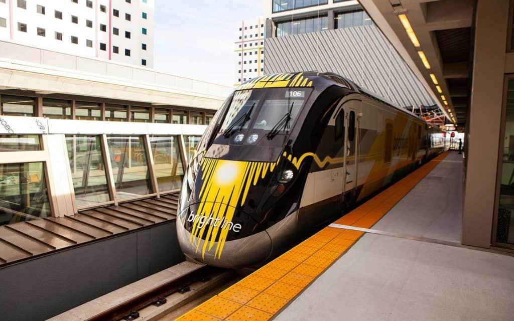 Brightline, el tren de alta velocidad de Florida, conectará Miami con en el complejo Walt Disney World Resort en Orlando