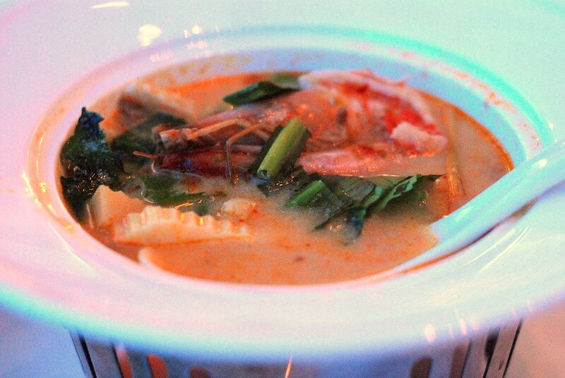 mejores platos de comida tailandesa Tom Yum Kung