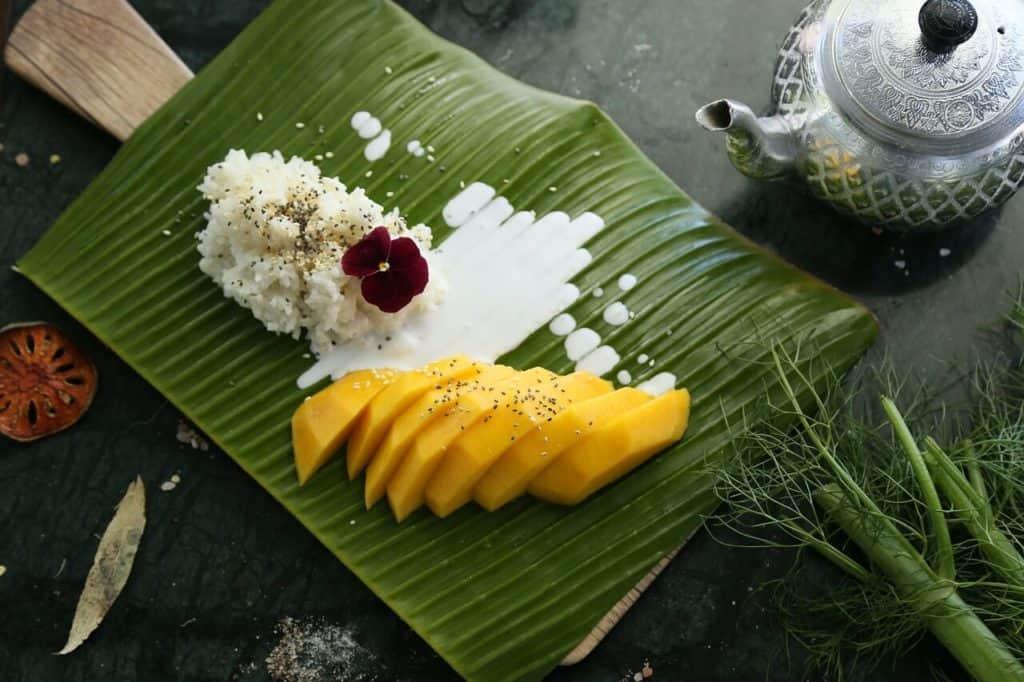 mejores platos de comida tailandesa mango sticky rice 3604851 1280 1