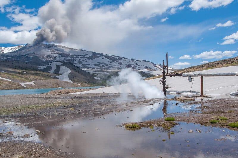 mejores lugares para darse baños de barro Geothermal park