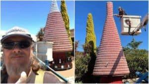 árbol de Navidad de 6 metros de altura