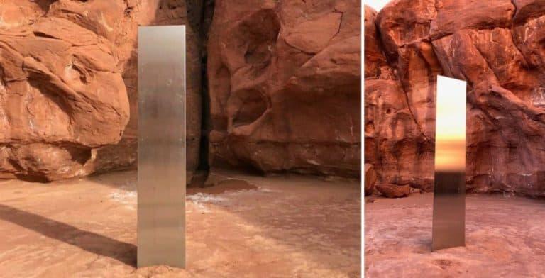 Desapareció el monolito que estaba instalado en el desierto de Utah