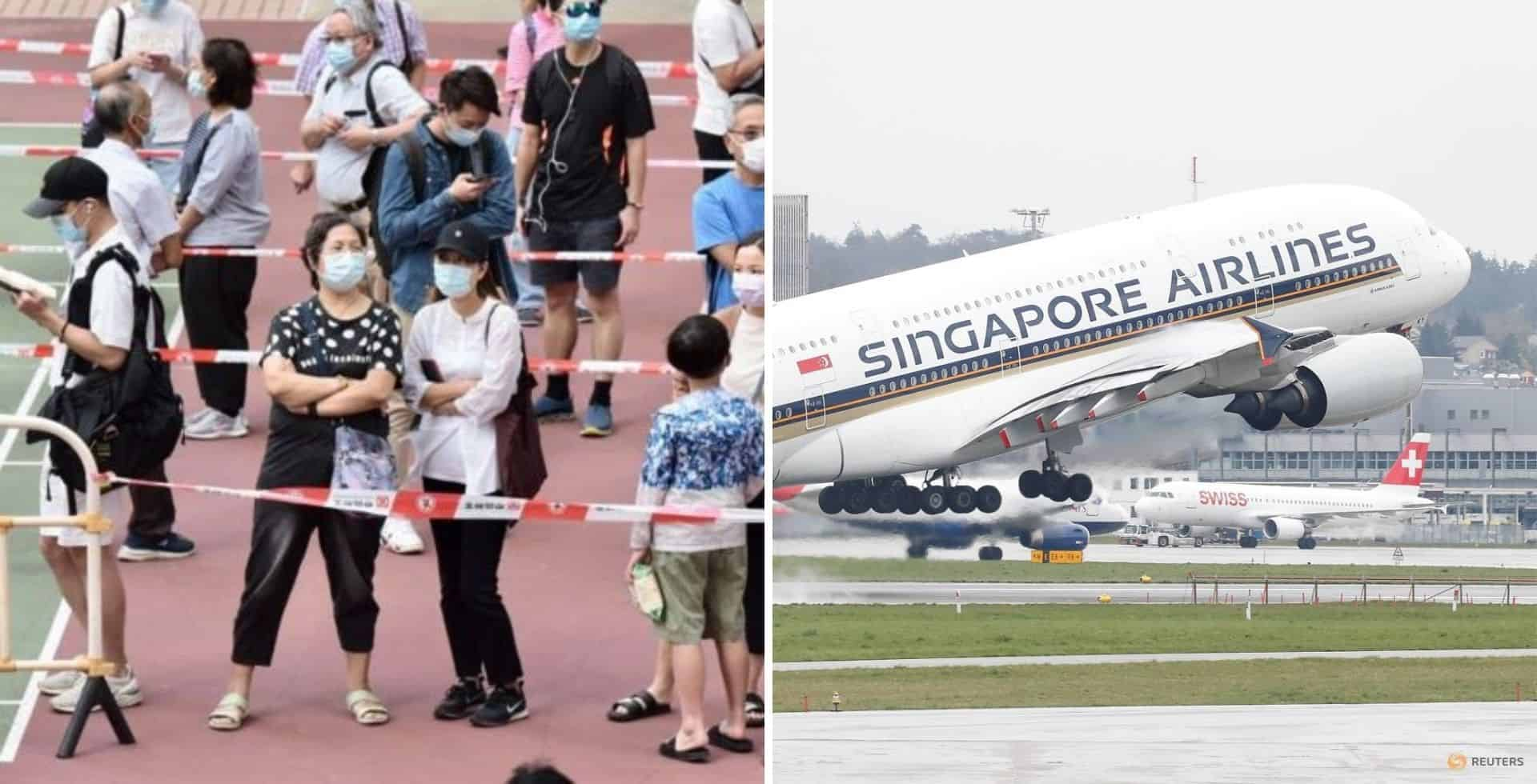 Se pospuso el lanzamiento del corredor de viajes entre Hong Kong y Singapur