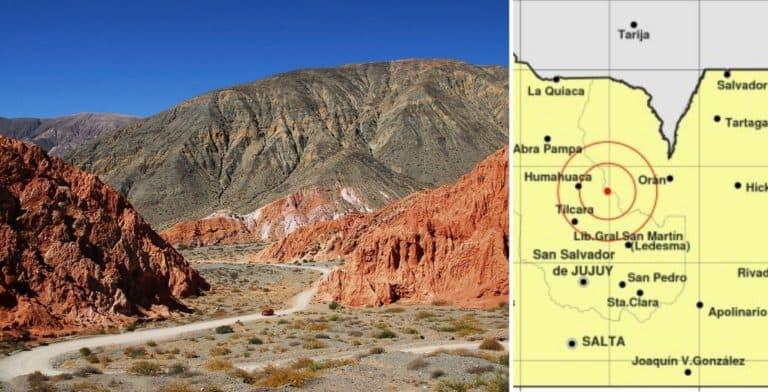 Un fuerte temblor se sintió en las provincias argentinas de Salta y Jujuy
