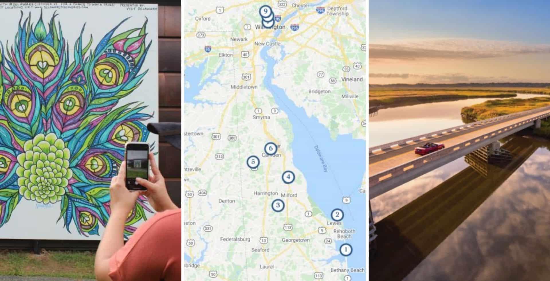 Estados Unidos: el estado de Delaware cuenta con un recorrido que es perfecto para conocer el lugares y el arte local