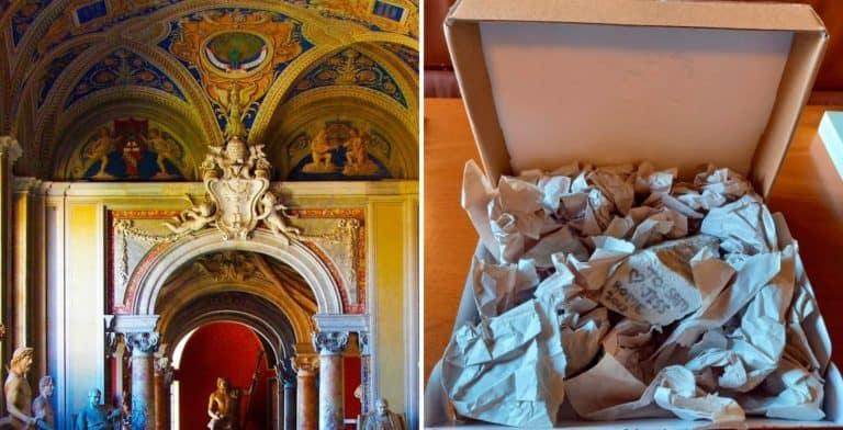 Una turista envió de regreso al Museo Nacional Romano una pieza de mármol que se llevó hace 3 años