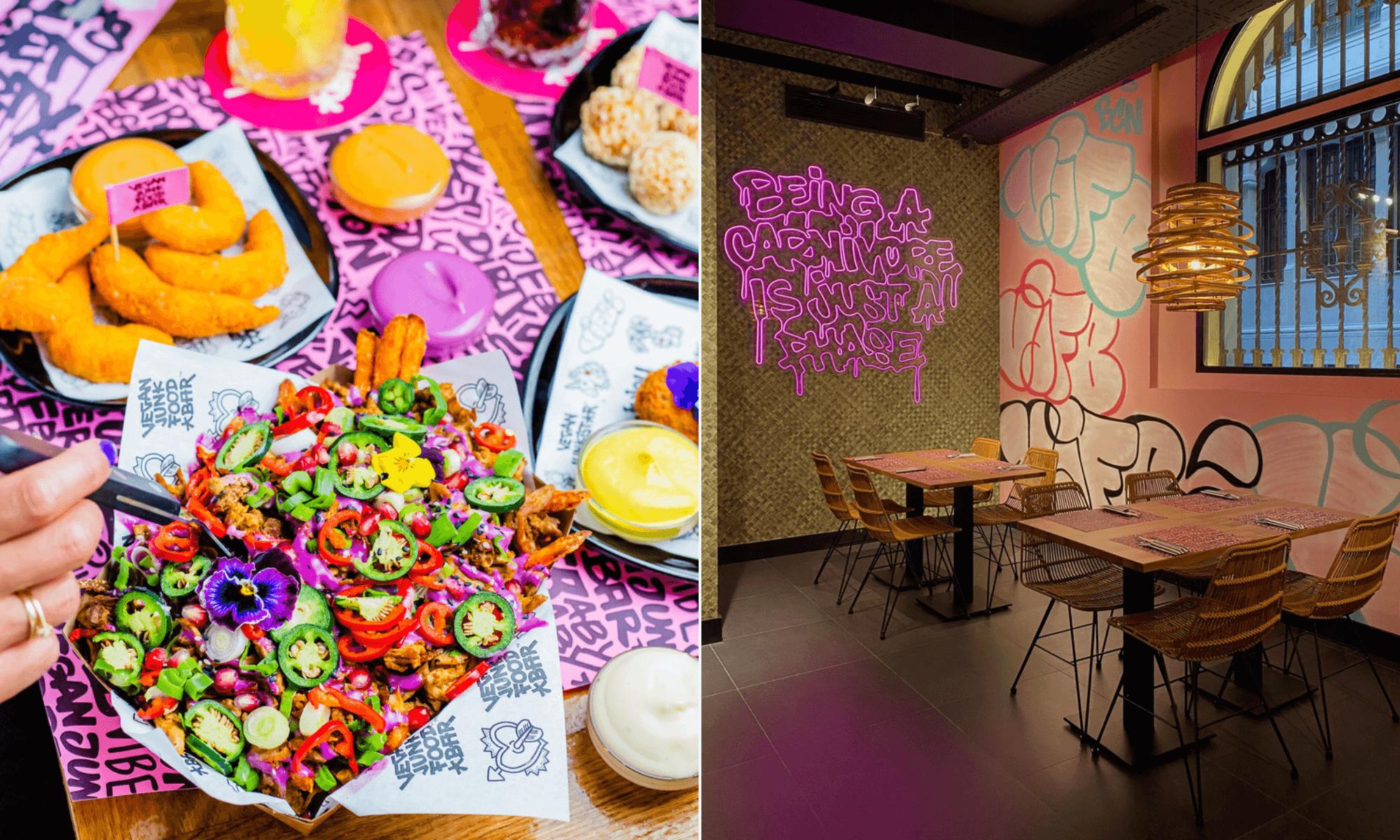 Barcelona abre su primer restaurante de comida rápida vegana