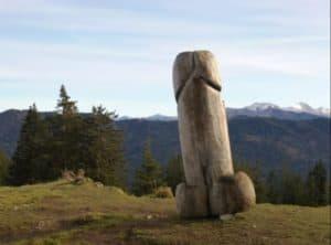 escultura fálica