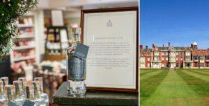 La reina Isabel II lanza su segunda línea de ginebra, esta vez elaborada con plantas de la Casa de Sandringham