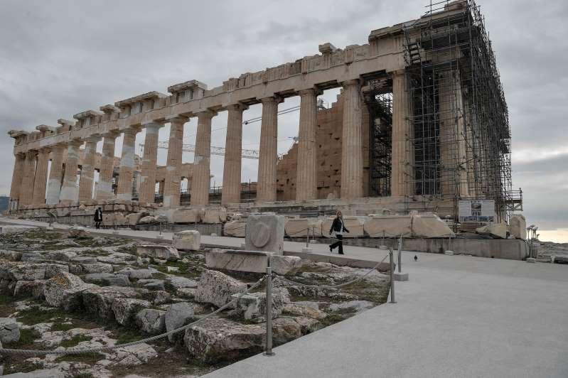 Grecia: la Acrópolis de Atenas cuenta con instalaciones que la harán más accesible