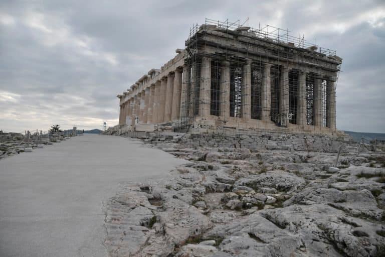 Grecia: la Acrópolis de Atenas cuenta con instalaciones que la harán más accesible para sus visitantes