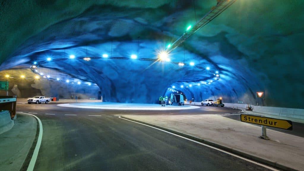 Islas Feroe tunel islas feroe 2