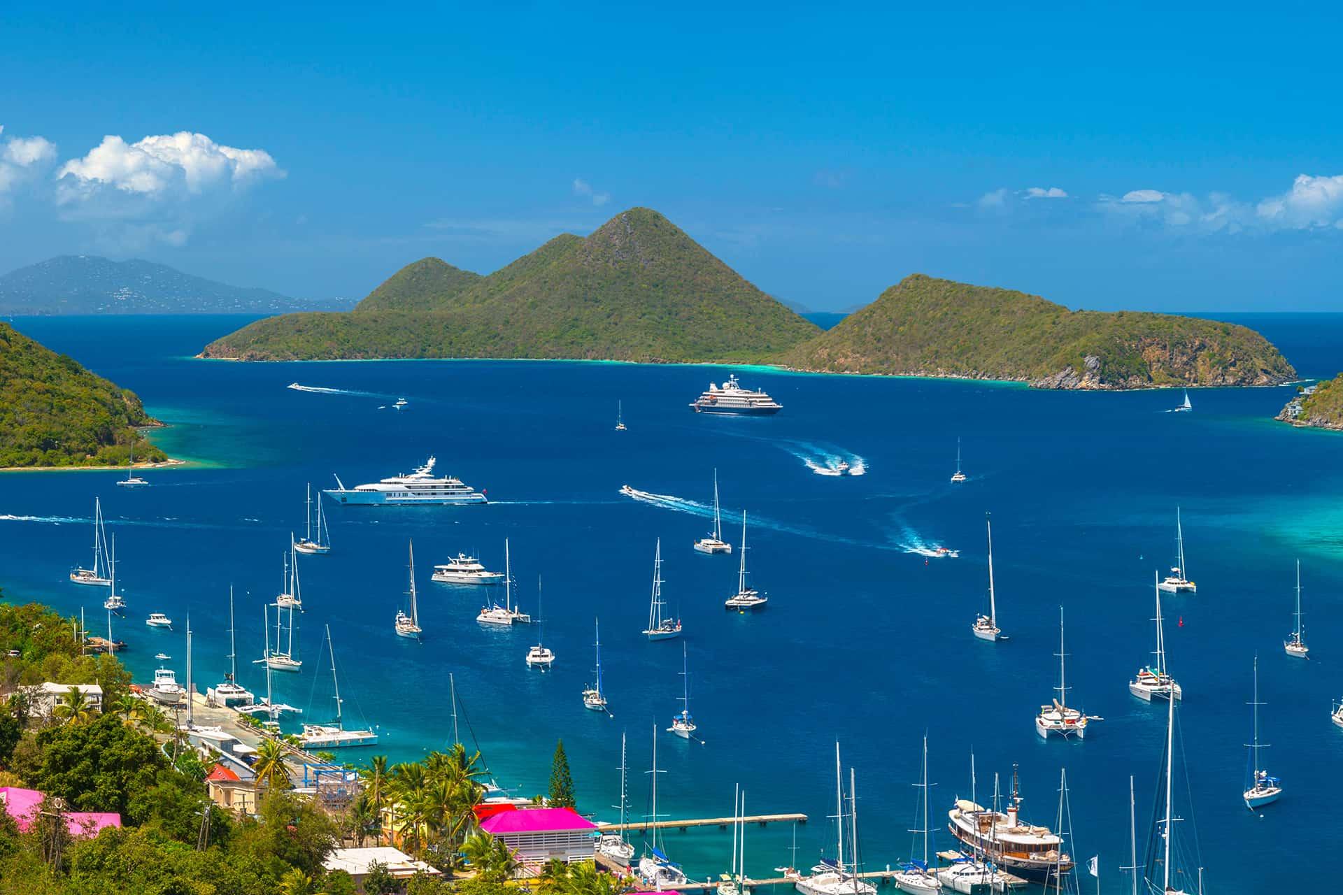 Las Islas Vírgenes Británicas ya están recibiendo nuevamente a residentes y turistas internacionales