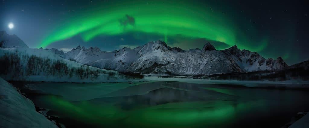fotografías de auroras boreales JOSE ANTONIO MATEOS