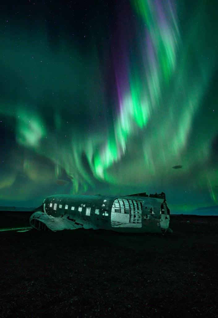 fotografías de auroras boreales JOHN WEATHERBY