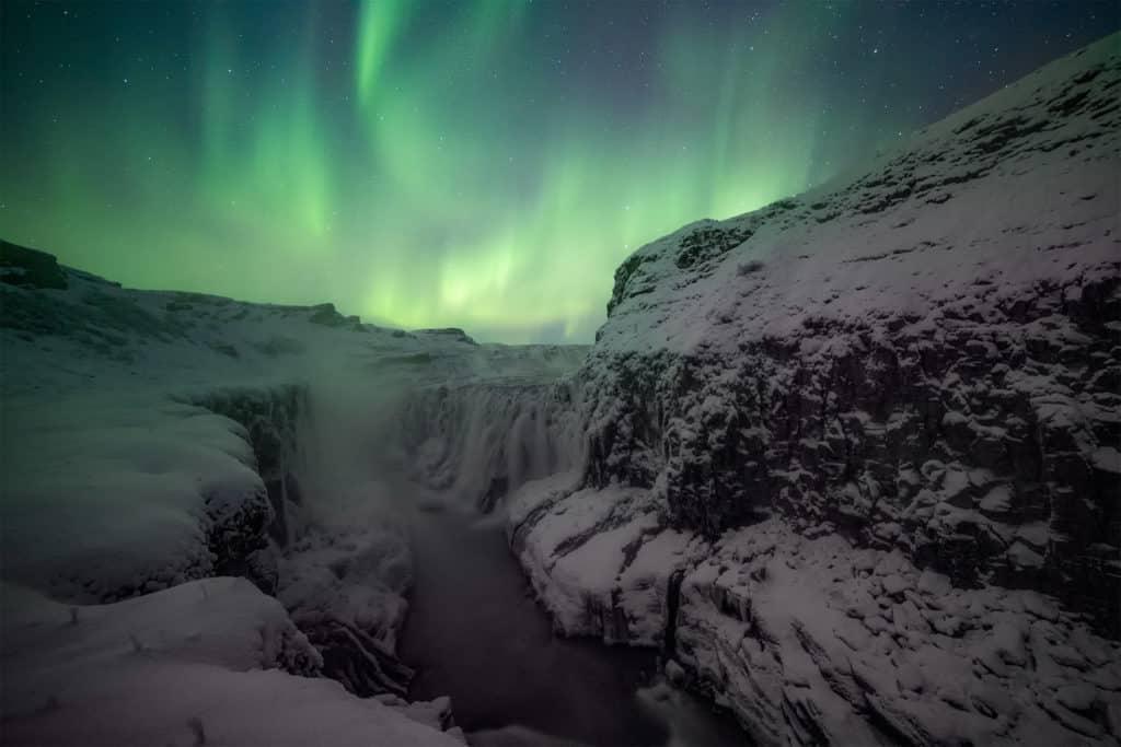 fotografías de auroras boreales VIRGINIA YLLERA