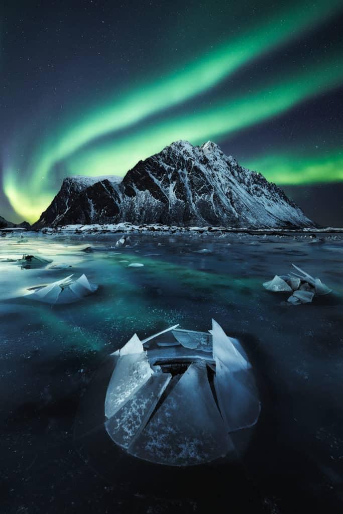 fotografías de auroras boreales ROKSOLYANA HILEVYCH