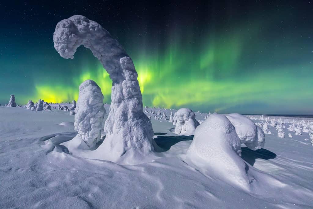 fotografías de auroras boreales PETRI PUURUNEN