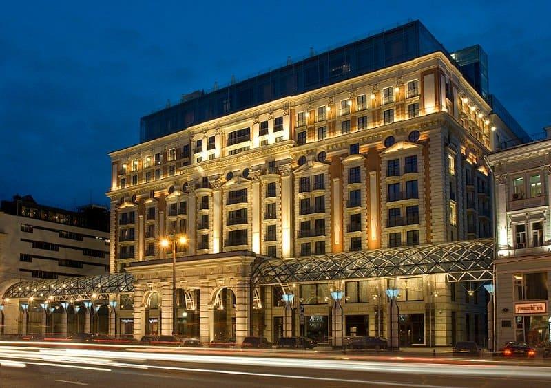hotel en Moscú