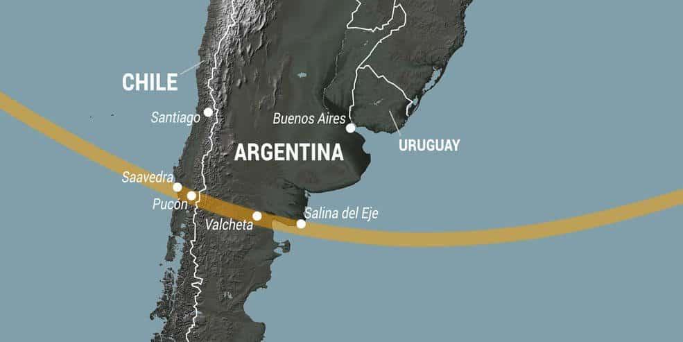 La NASA proporcionará cobertura en español y retransmisión en vivo del eclipse solar de Sudamérica
