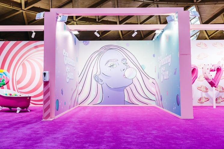 Barcelona abrió The Sweet Art Museum la primera experiencia dulce e inmersiva en España que estará disponible hasta el 10 de enero
